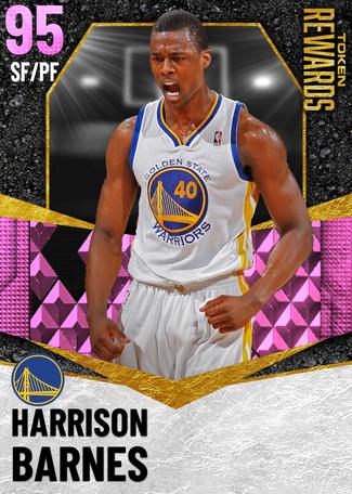 Harrison Barnes pinkdiamond card