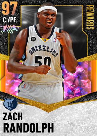 Zach Randolph opal card
