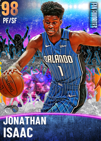 Jonathan Isaac opal card