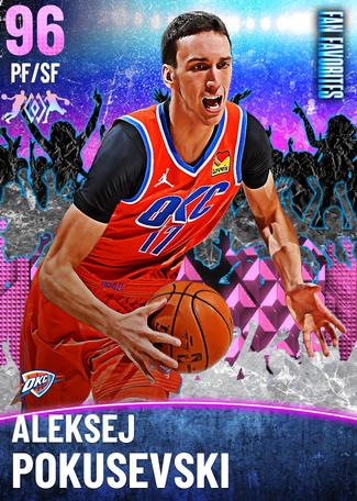 Aleksej Pokusevski pinkdiamond card