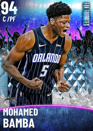 Mohamed Bamba diamond card