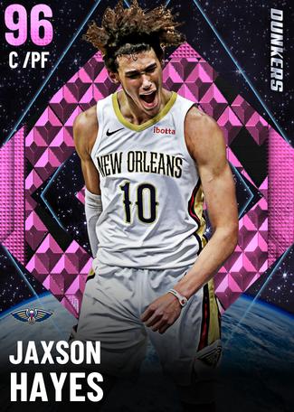 Jaxson Hayes pinkdiamond card