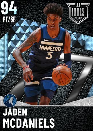 Jaden McDaniels diamond card