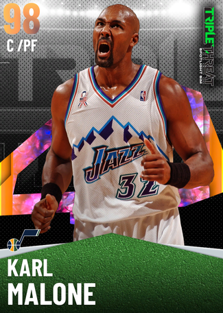 '04 Karl Malone opal card