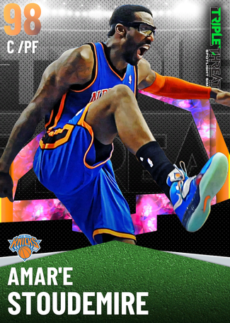 '05 Amar'e Stoudemire opal card