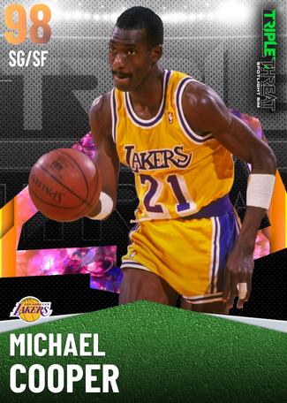 '85 Michael Cooper opal card