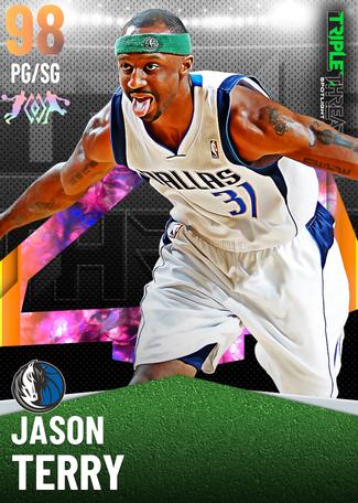 '02 Jason Terry opal card
