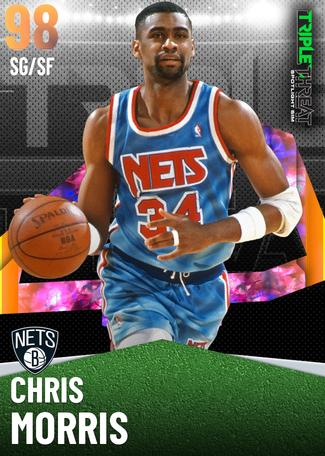 '90 Chris Morris opal card