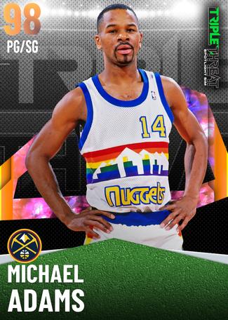 '91 Michael Adams opal card