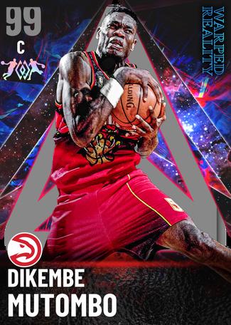 '09 Dikembe Mutombo dark_matter card