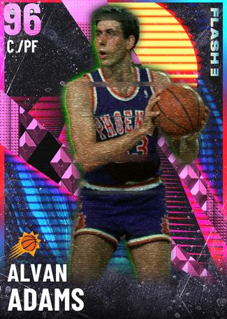 '88 Alvan Adams pinkdiamond card