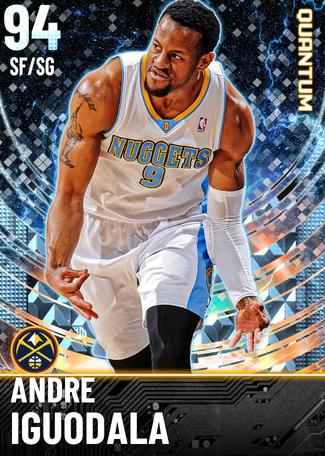 '18 Andre Iguodala diamond card