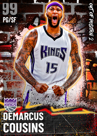 DeMarcus Cousins dark_matter card