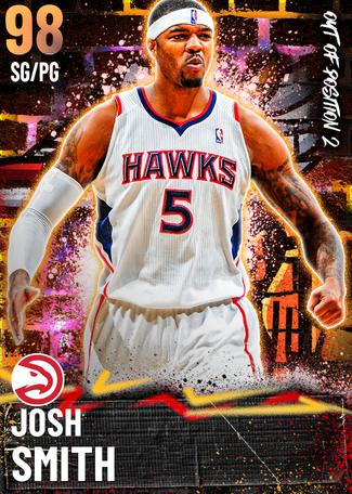'18 Josh Smith opal card