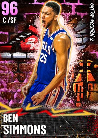 Ben Simmons pinkdiamond card
