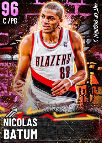 Nicolas Batum pinkdiamond card