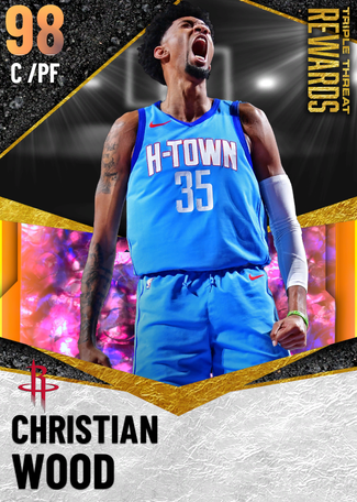 Christian Wood opal card
