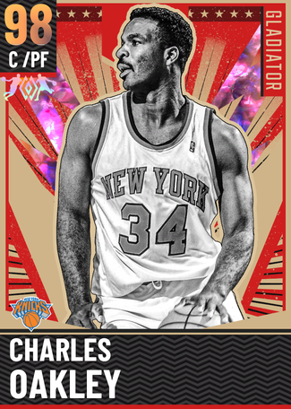 '88 Charles Oakley opal card