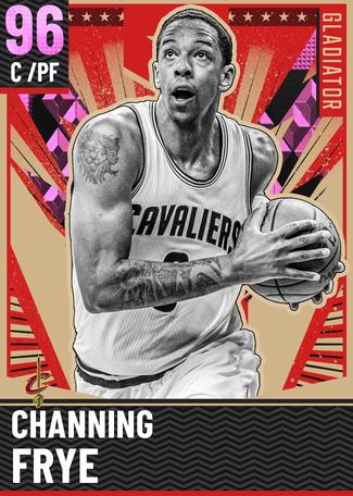 '07 Channing Frye pinkdiamond card