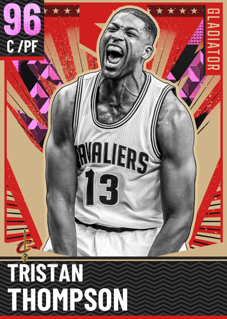 Tristan Thompson pinkdiamond card