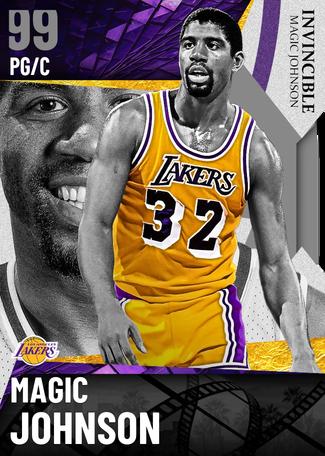 '91 Magic Johnson dark_matter card