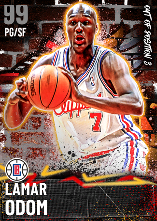 Lamar Odom dark_matter card
