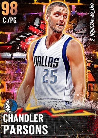 Chandler Parsons opal card