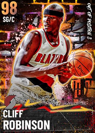 '91 Cliff Robinson opal card