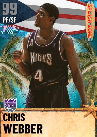 '04 Chris Webber dark_matter card