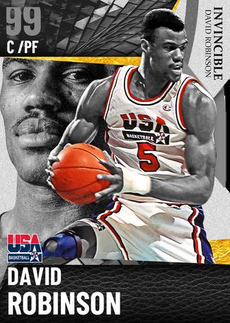 '92 David Robinson dark_matter card