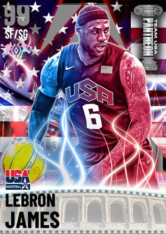 LeBron James dark_matter card