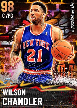 Wilson Chandler opal card
