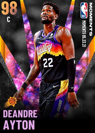 Deandre Ayton opal card