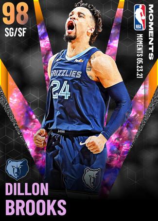 Dillon Brooks opal card
