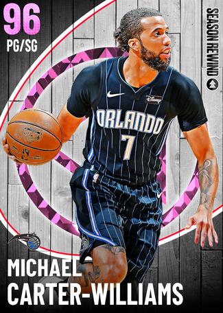 Michael Carter-Williams pinkdiamond card