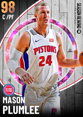 Mason Plumlee opal card