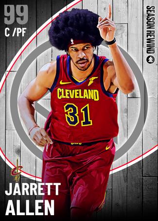 Jarrett Allen dark_matter card