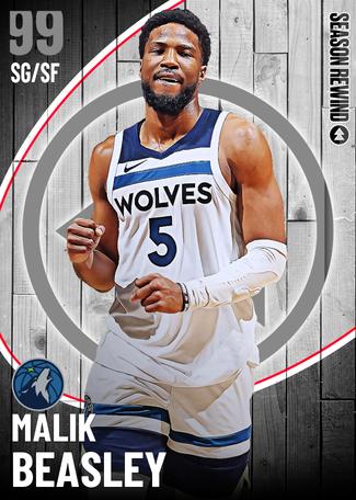 Malik Beasley dark_matter card
