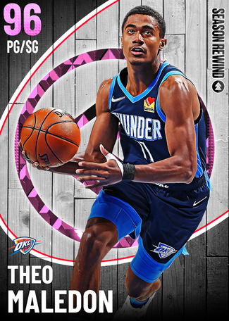 Theo Maledon pinkdiamond card