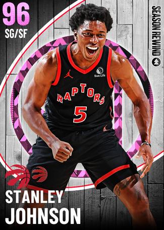 Stanley Johnson pinkdiamond card