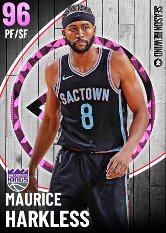 Maurice Harkless pinkdiamond card