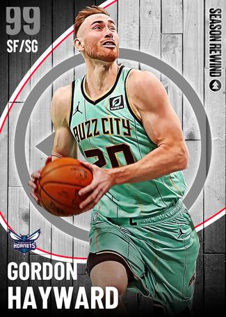 '16 Gordon Hayward dark_matter card