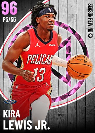 Kira Lewis Jr. pinkdiamond card