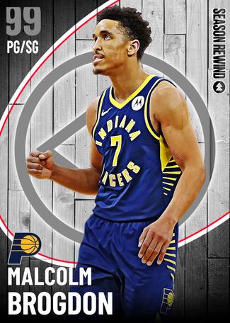 Malcolm Brogdon dark_matter card