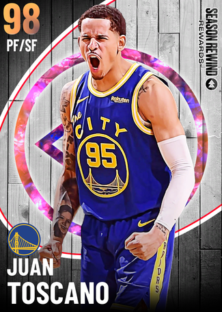 Juan Toscano opal card