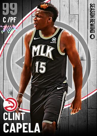 Clint Capela dark_matter card