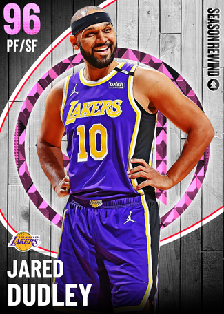 Jared Dudley pinkdiamond card