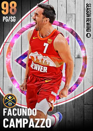 Facundo Campazzo opal card