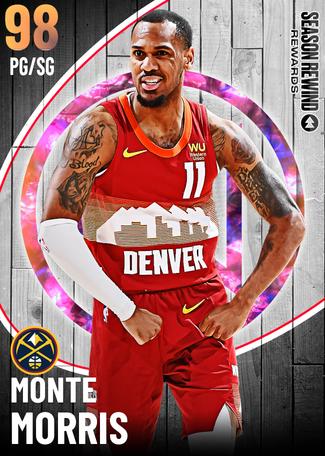 Monte Morris opal card