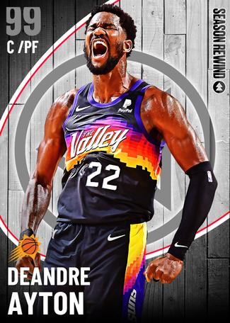 Deandre Ayton dark_matter card